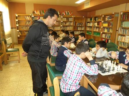 گزارش مسابقات شطرنج مدرسه