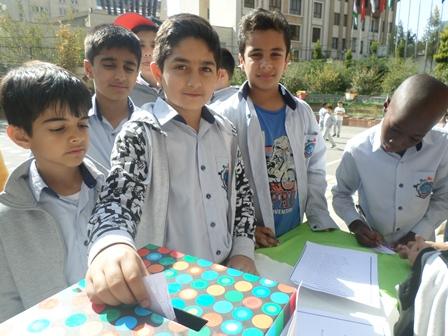 انتخابات شوراي دانش آموزي  سال تحصیلی 96-95