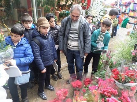 گردش علمی - بازار گل و گیاه