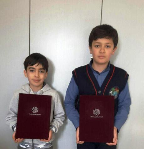 کسب مقام دوم در گروه سنی نونهالان و نوجوانان مسابقات روبیک استان تهران